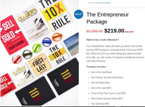 The Entrepreneur Package - Edited